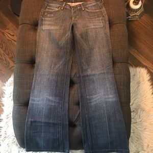 Citizens of Humanity Faye Wide Leg Flare Jean - 27